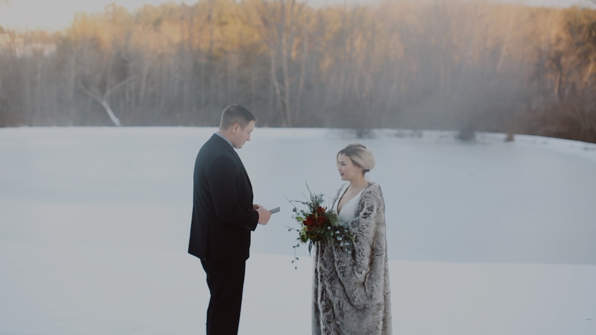 Rustic Winter Vow Renewal at M&D Farm with Gardenhouse Films