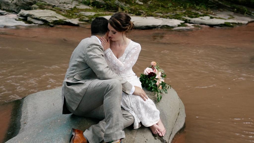 Nature Bride Boho Dress River Rock
