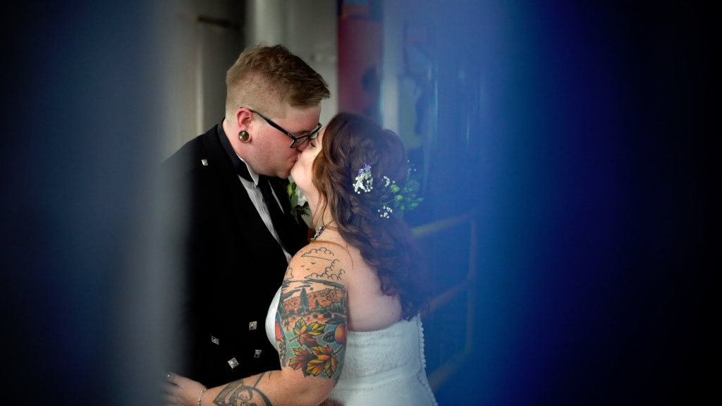 Molly & Luke at their Connecticut Brewery Wedding