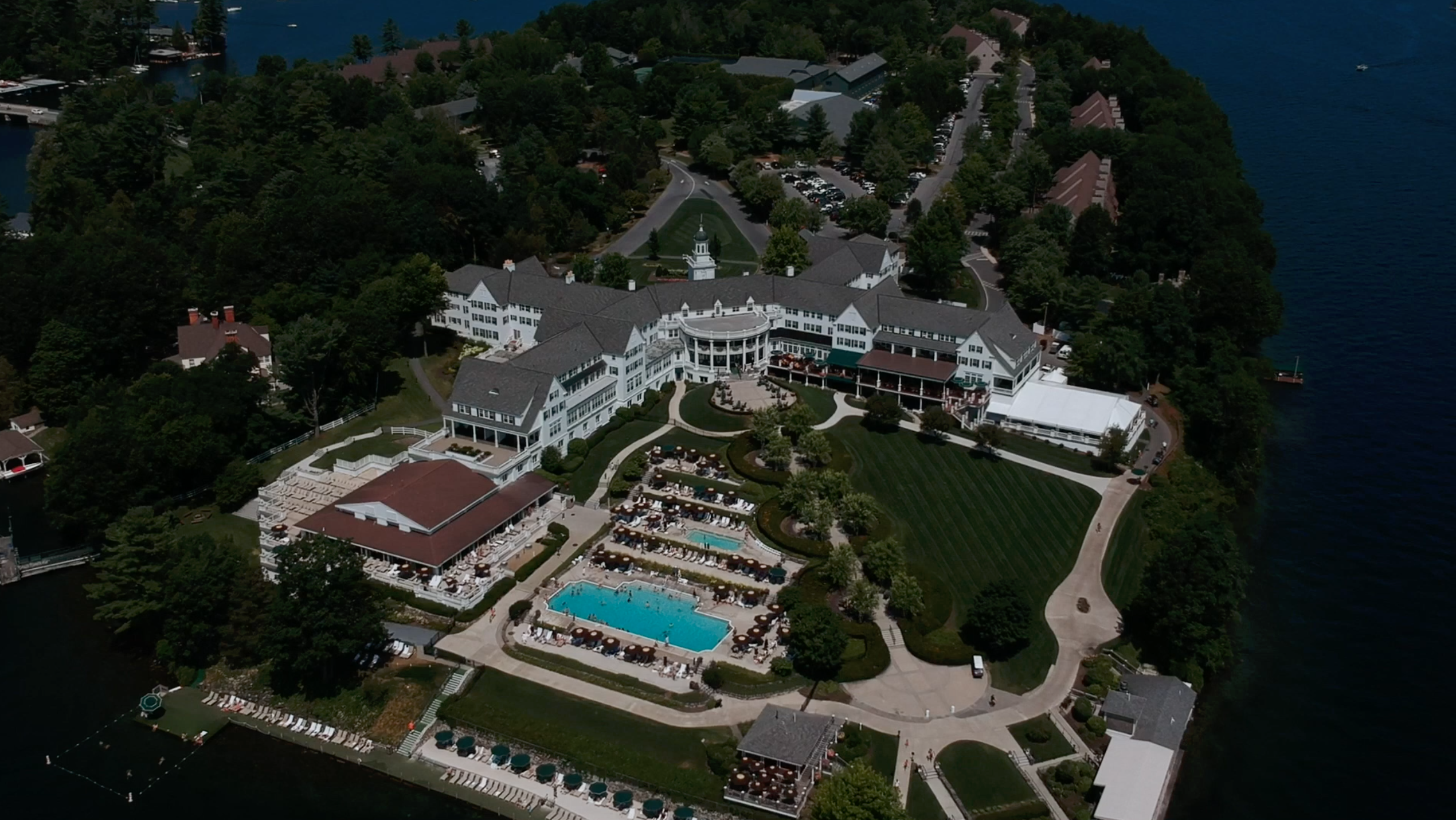 The Sagamore from Drone