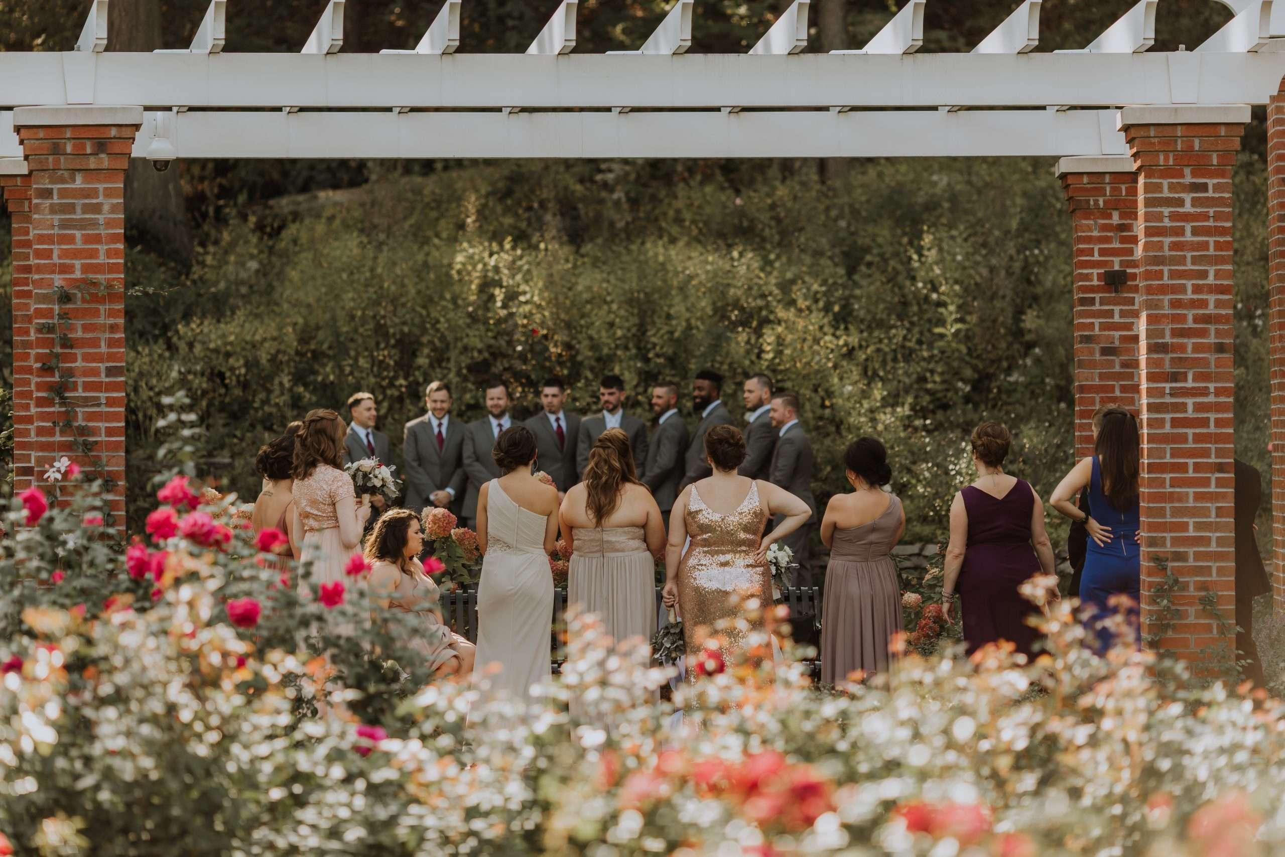 Garden Wedding, Bridal Party