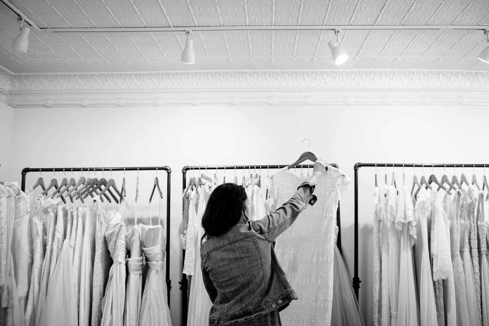 choosing a wedding gown