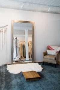 bridal shop interior