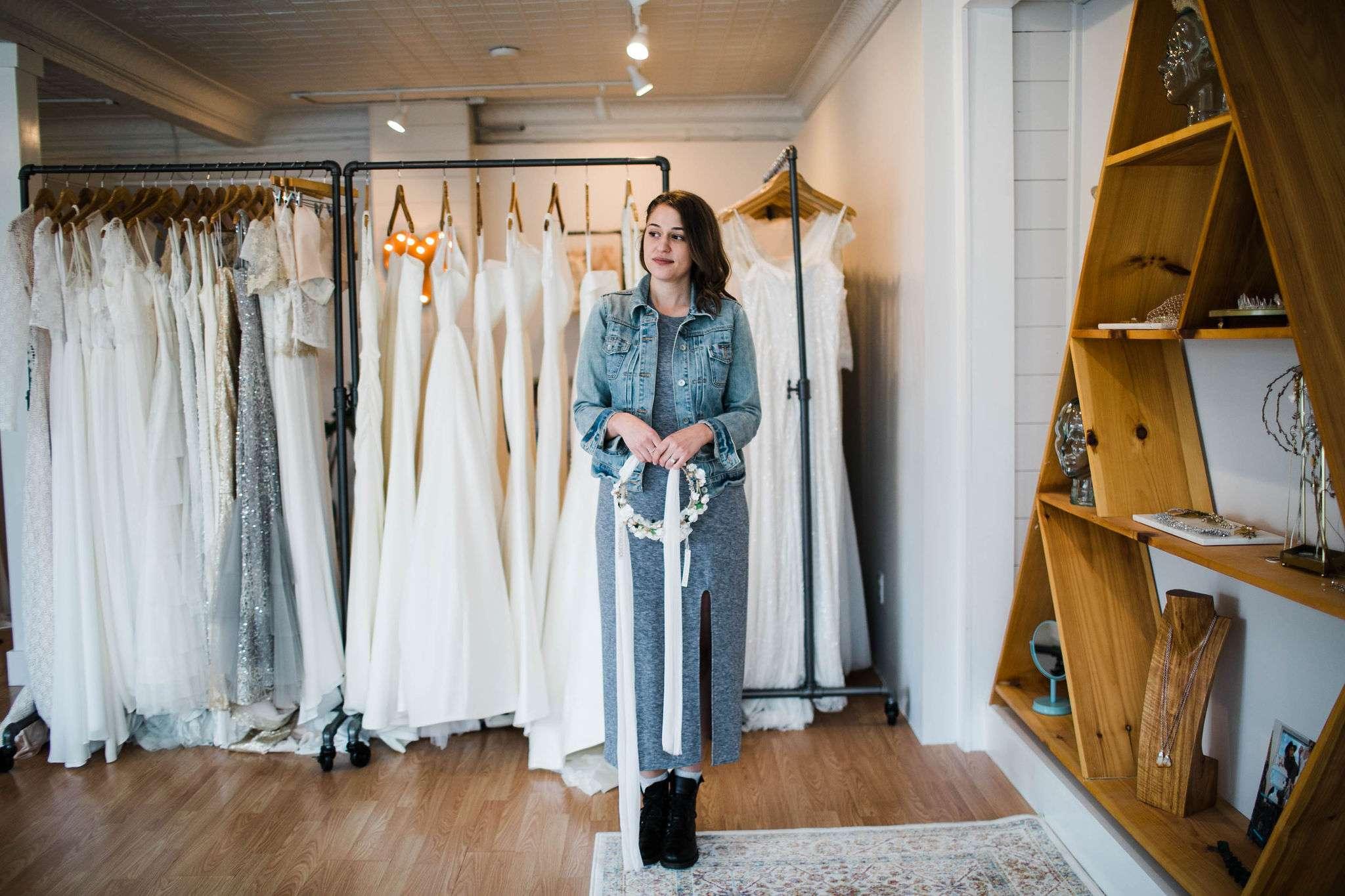 true north bridal gown shop