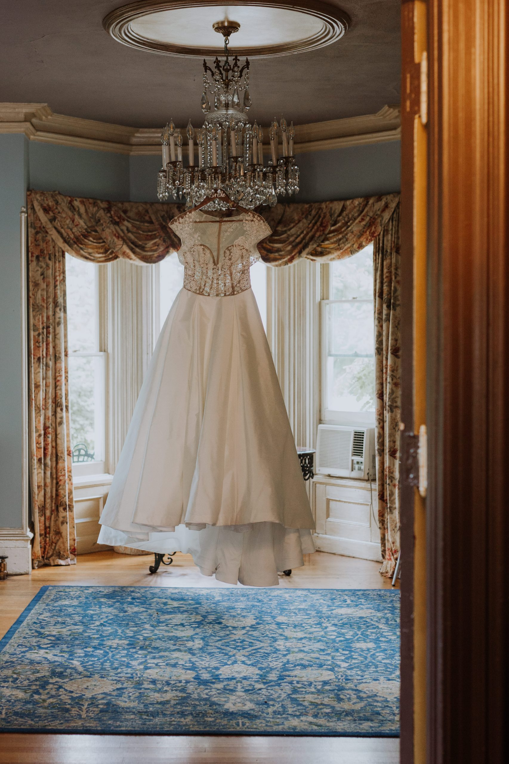 Bridal Gown Feast at Round Hill